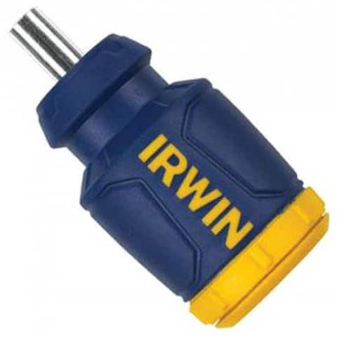 Irwin Tools 4935587 Multi-Purpose 8-In-1 Stubby Screwdriver