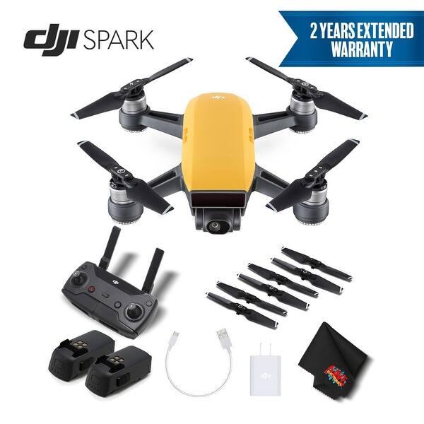 Shop DJI Spark Portable Mini Drone Quadcopter Bundle w/ Remote