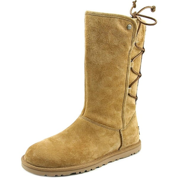 fde3be9bf59 Shop Ugg Australia Lo Pro Lace Up Round Toe Canvas Mid Calf Boot ...