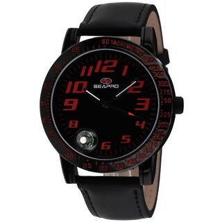 Link to Seapro Men's Raceway Black Dial Watch - SP5114 - One Size Similar Items in Men's Watches