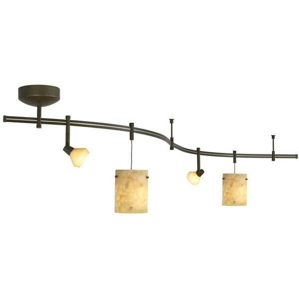 shop tech lighting 800ral28nxz tiella 4 light decorative flexible