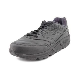 Brooks Addiction Walker Round Toe Leather Walking Shoe