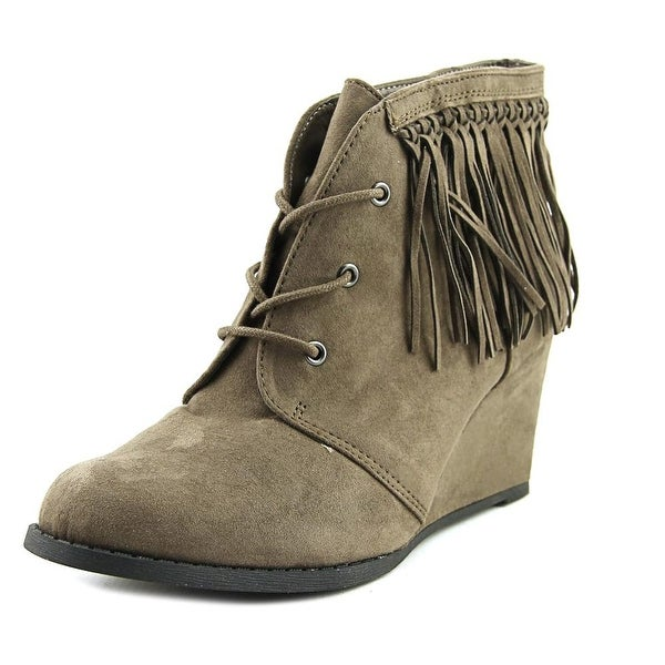 Sugar Mystic Women Taupe Boots