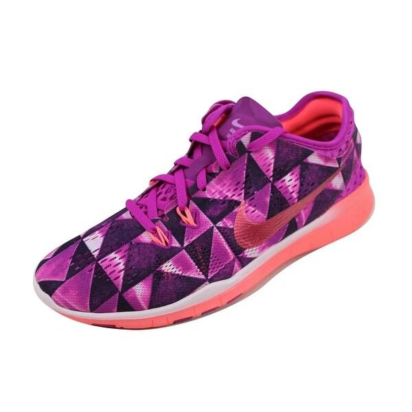 new styles 8c608 acf19 Nike Womenx27s Free 5.0 TR FIT 5 PRT Fuchsia FlashHot