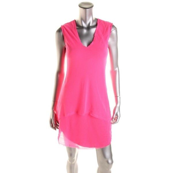 Rachel Rachel Roy Womens Casual Dress Chiffon Sleeveless - s