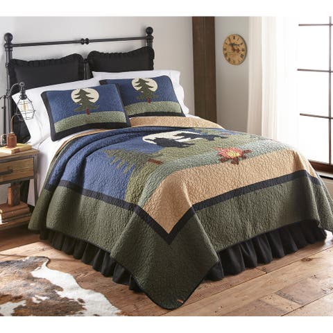 Donna Sharp Bear Camp Quilt Set