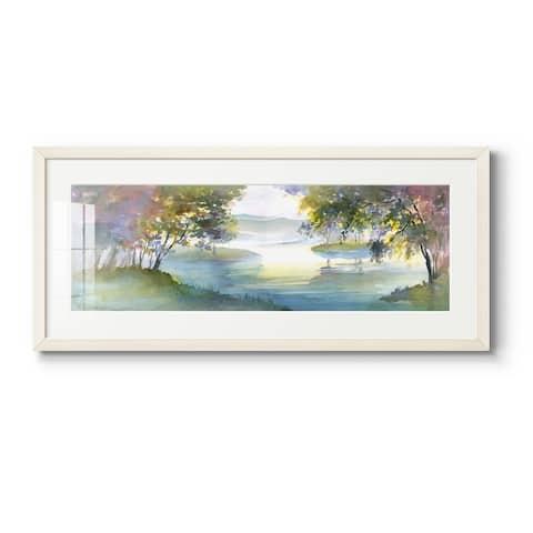 Meandering Lake I-Premium Gallery Framed Print