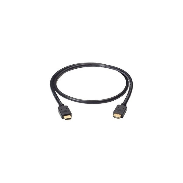 Black Box VCB-HDMI-001M Black Box Premium High-Speed HDMI Cable with Ethernet, Male/Male, 1-m (3.2-ft.) - HDMI for Audio/Video