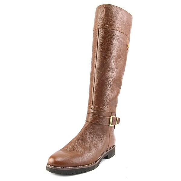 Franco Sarto Chandler Women  Round Toe Leather Brown Knee High Boot