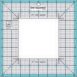 "Get Squared Ruler-8-1/2"" Outer & 4-1/2"" Inner"