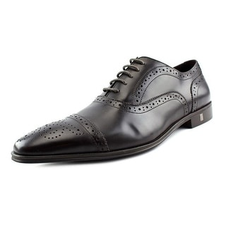 Versace Collection V900149 Round Toe Leather Oxford