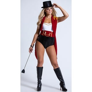 Hoty Lion Tamer Costume, Hoty Ringmaster Costume - as shown