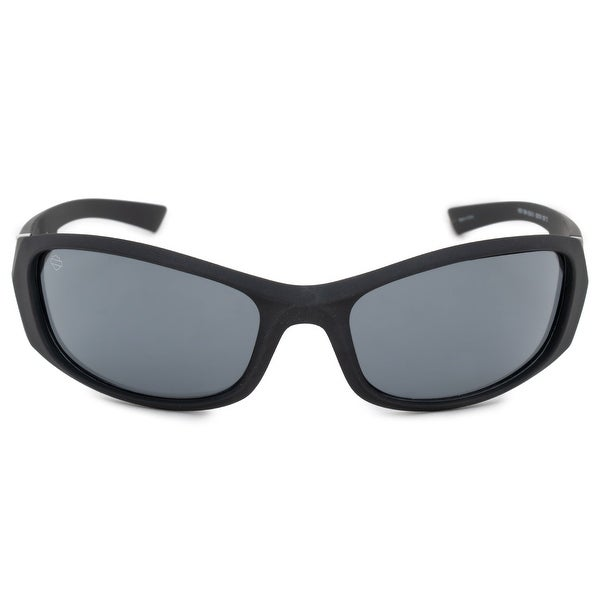 e0db023eed2 Shop Harley Davidson Sports Sunglasses HDV0004 BLK 3 62 - Free ...