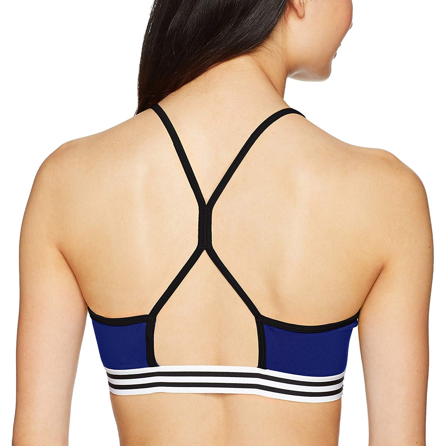 ADIDAS 3-Stripe Racer-Back Pink Sports Bra High Support Size Large X Large NEW