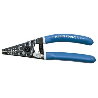 Klein Tools Klein-Kurve Wire Stripper/Cutter Solid (8-16 AWG) & Stranded (10-18 AWG) Wire - 11054
