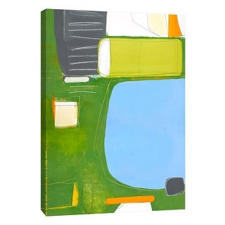 """PTM Images 9-108475  PTM Canvas Collection 10"""" x 8"""" - """"Aspect #8"""" Giclee Abstract Art Print on Canvas"""