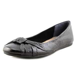 Style & Co Audreyy Women Round Toe Synthetic Black Flats