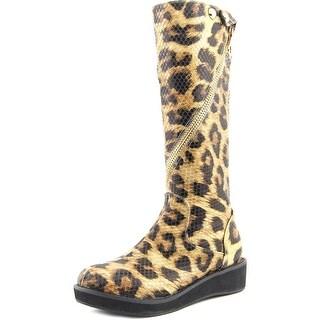 Amiana 15/A5312 Round Toe Synthetic Knee High Boot