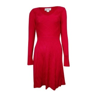 Jessica Simpson Women's V-neck Sweater Dress
