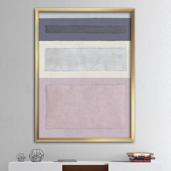 Designart 'Painted Weaving IV FB' Modern & Contemporary Framed Art Print. Opens flyout.
