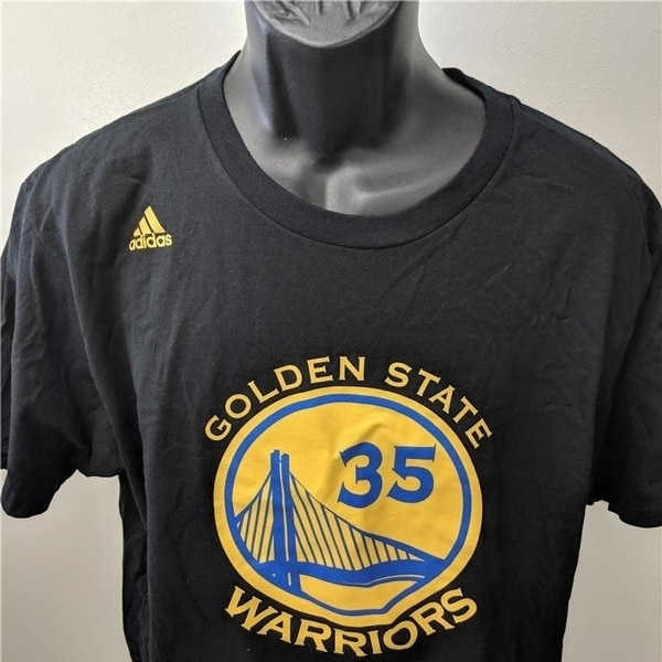 info for 99582 32a03 Golden State Warriors #35 Kevin Durant Mens Sizes S-M-L Adidas Shirt