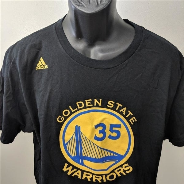 info for c5d78 07a63 Golden State Warriors #35 Kevin Durant Mens Sizes S-M-L Adidas Shirt