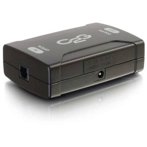 Optical to Coaxial Digital Audio Converter