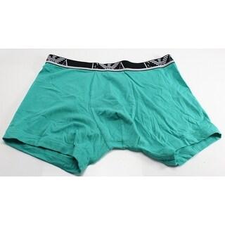 Emporio Armani NEW Green Cotton Stretch Mens Size Large L Boxer Brief