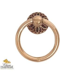 Bosetti Marella 101056 Louis XVI 1-9/16 Inch Diameter Ring Cabinet Pull