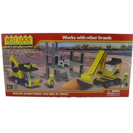 Best-Lock Construction Site Set 220 Piece Set
