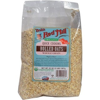 Bob's Red Mill - Organic Quick Cooking Rolled Oats ( 4 - 32 OZ)
