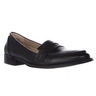 Wanted Campus Penny Loafers, Black