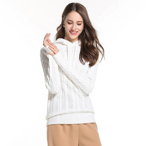 Casual Women's Sweater Hooded Sweater