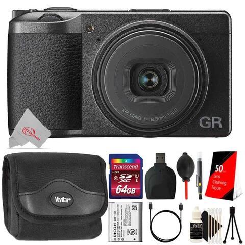 Ricoh GR III Digital Camera + Essential Kit