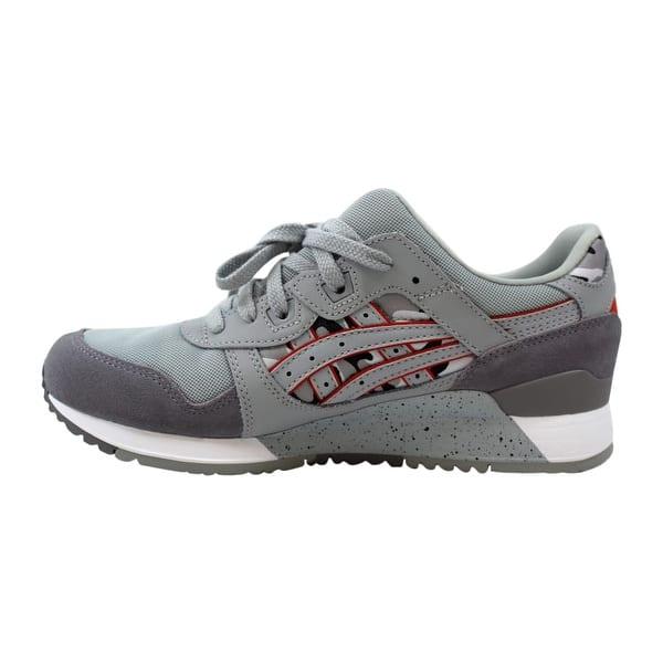 premium selection 59546 08c16 Shop Asics Gel Lyte III 3 Mid Grey/Dark Grey Men's H7Y0L ...