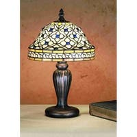 Meyda Tiffany 27535 Stained Glass / Tiffany Accent Table Lamp from the Tiffany Roman Collection
