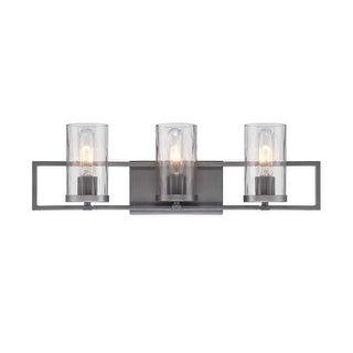 Designers Fountain 86503 Elements 3 Light Bathroom Vanity Light
