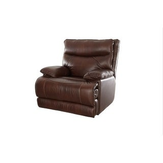 Ashanti Ranger CUMULUS Semi Aniline Sauvage Type Incliner Chair - Brown