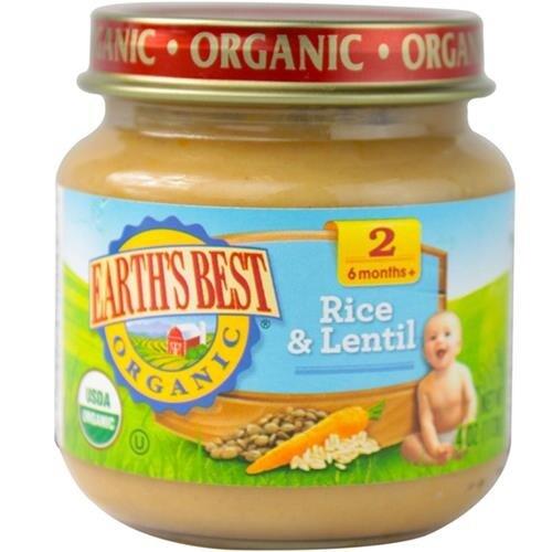 Earth's Best - Organic Brown Rice & Lentil Dinner ( 12 - 4 OZ)