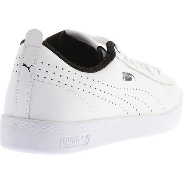 1b018bcf Shop PUMA Women's Smash V2 L Perf Sneaker PUMA White/PUMA White ...