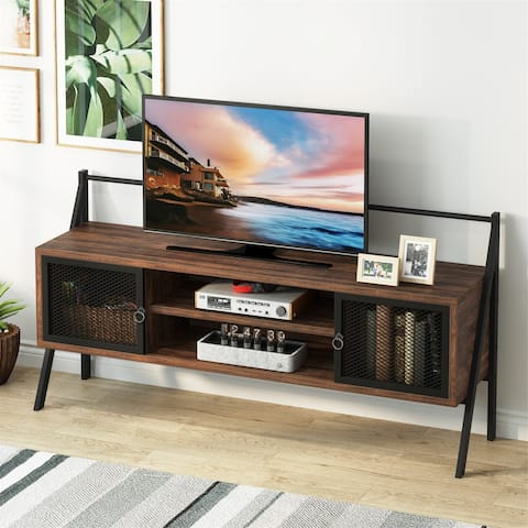 TV Stand for TVs up to 65 Inch, Media Entertainment Center