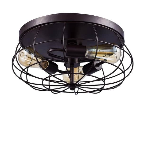 Shop 3 Light Vintage Industrial Ceiling Light Fixture Oil