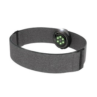 Polar OH1 Gray Optical Heart Rate Sensor with Built-In Memory & Comfortable Textile Armband