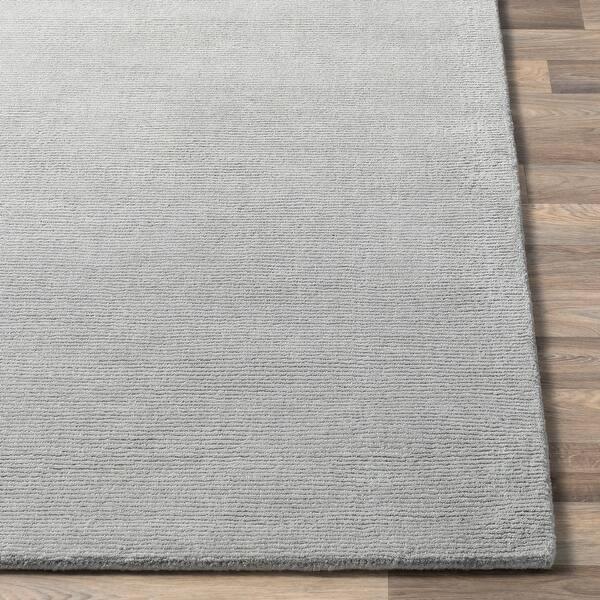 Handmade Drake Textured Stripe Wool Area Rug Overstock 8929200