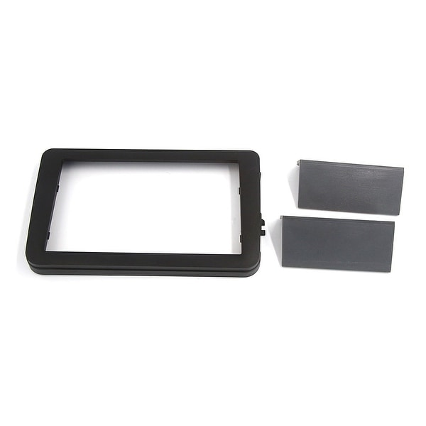 Black Plastic Car Audio Stereo System Frame Holder Installation Panel for VW