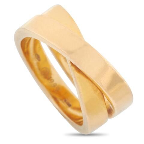 Cartier Paris Nouvelle Vague Yellow Gold Ring Size 6.5