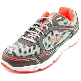 Fila Soar 2 Women Round Toe Synthetic Gray Running Shoe