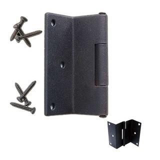 Wrought Iron Shutter Hinge Black Rustproof Modern Style