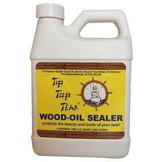 Tip Top Teak Wood Oil Sealer - Quart Wood Oil Sealer