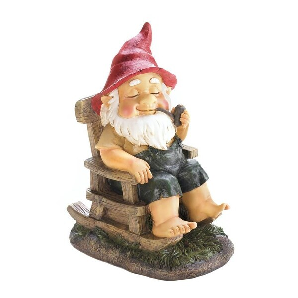 Beautiful Rocking Chair Gnome